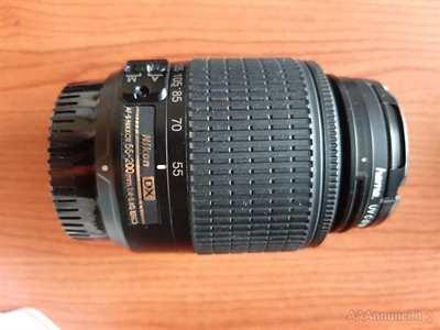 Obiettivo AF-S DX Zoom-Nikkor 55-200mm f/4-5.6G ED