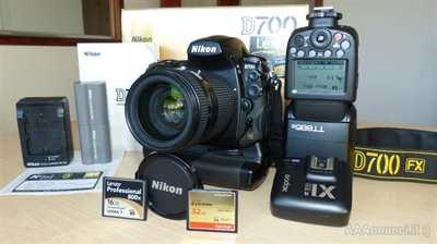 Nikon D700 Corredo completo