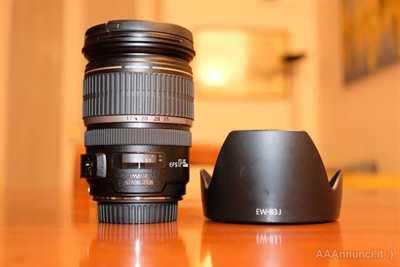 Obiettivo Canon EF-S 17-55mm IS USM come nuovo