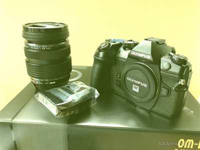 Olympus OM-D e-M1 Mark II + Lens 12-40 F2.8