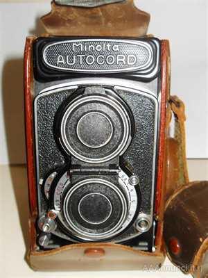 Macchina fotografica Minolta Autocord