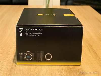 Nikon Z6 con adattatore FTZ e obiettivo 24-70mm