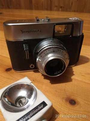 Macchina fotografica Voigtlander Mod. Vito C anni '60