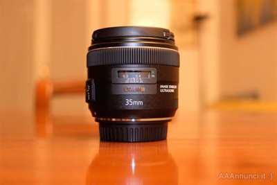 Obiettivo Canon EF 35mm come nuovo