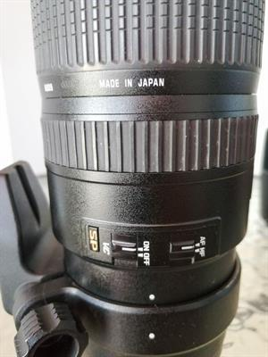 Tamron SP AF 70-200mm F/2.8 Di VC USD Canon