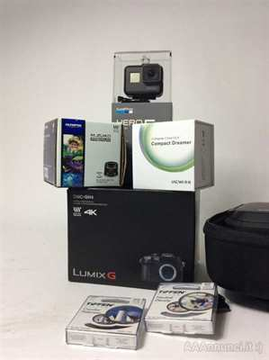 Panasonic GH4 Karma Drone, Lenti e GoPro Hero 5