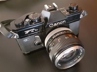 Fotocamera reflex SLR 35mm Canon Ft b manuale