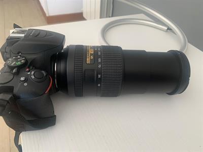 Nikon D 5500 + obiettivi