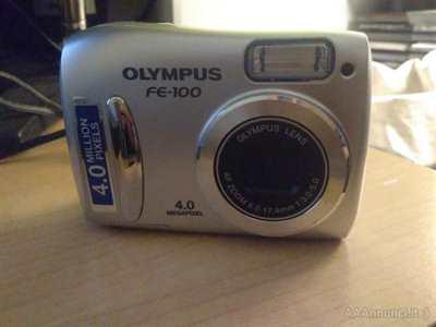 Fotocamera digitale Olympus FE-100 4.0 Megapixel