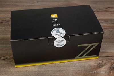 Nikon Z7 con adattatore FTZ