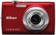 Fotocamera digitale Nikon Coolpix S2500 colore: Rosso