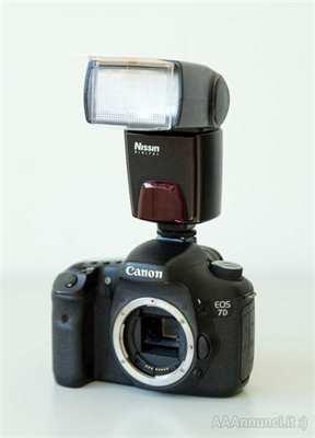Canon EOS 7D + Flash NISSIN Di622