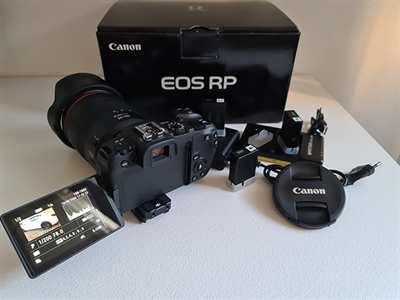 Canon EOS RP full frame Mirrorless con obiettivo RF 24-105MM