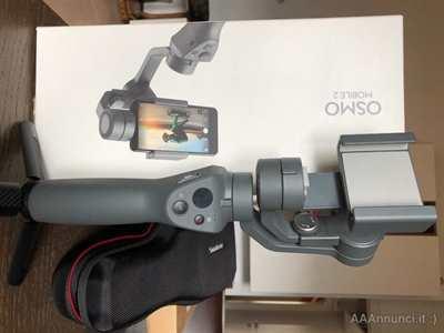 Gimbal Osmo Mobile 2 di DJI per iPhone