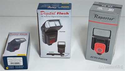 Flash per fotocamere reflex